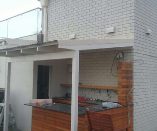 New Pergola Built On A Luxurious Apartment Rooftop Bondi Beach, NSW