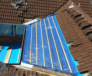 Tile Roof Recently Extended And Repointed. We Are Currently Looking For A  Person To Join