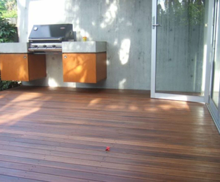 Refinishing of a deck that had been left for years Manly, NSW