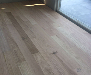 New floors to upstairs extension ready for sanding and finishing Seaforth, NSW