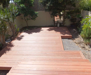 New deck for Manly townhouse Manly, NSW