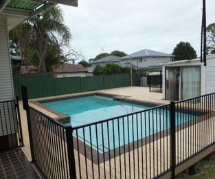 New treated pine deck and pool fencing Cromer, NSW