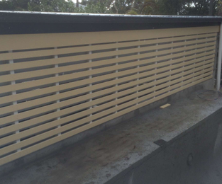 New double carport and privacy screen ready for paint Elanora Heights, NSW