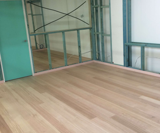 New offices. Stairs, floors and display Brookvale, NSW