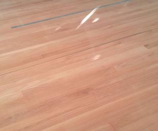 New Rose Gun floors over the old Cypress Pine floors Narraweena, NSW