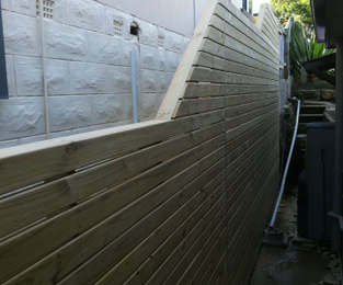 Deck, walkway and stairs to a previously inaccessable side of the house North Balgowlah, NSW
