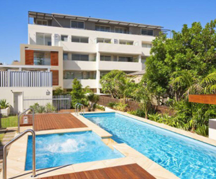 New development complete with resort style pool hardwood deck and pergola Manly, NSW
