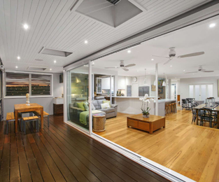 Upper and lower floor decks and doors we did about 9 years ago. Still looking good North Curl Curl, NSW